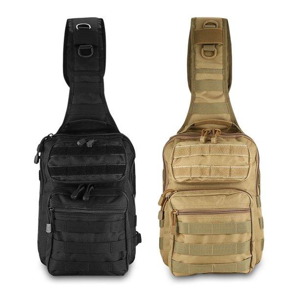 600D Nylon Fabric Tactical Military Shoulder Sling Backpack Crossbody Bag 480D Tough Nylon Lining Waterproof Outdoor Bag #767710