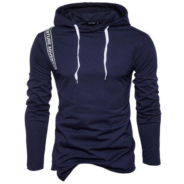 Marke 2019 neue hoodie beiläufige einfache hoodies männer mode trainingsanzug männlichen sweatshirt
