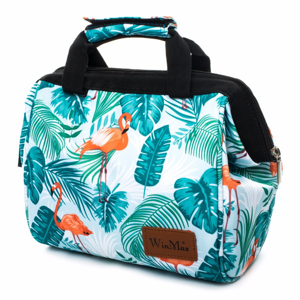 Winmax New Colorful Insulated Picnic Bag Portable keep Food Safe Warm Big Thermal Cooler Box School Picnic Hiking Bags Hot sale