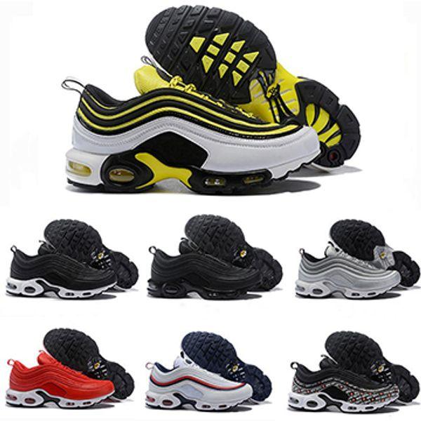 Tn Plus Luxury Designer Camouflage Triple Volt Gelb Schwarz Weiß Laufschuhe Herren Frauen Tn OG Land Camo South Beach Trainer Schuhe