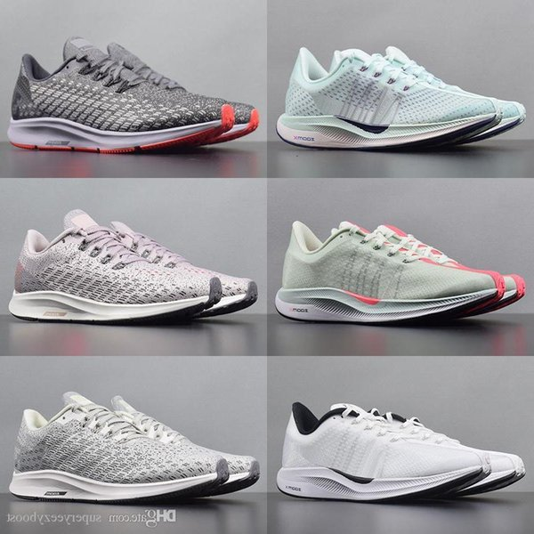 2019 Pegasus 35 Turbo Fly Running Shoes Mens New Air Mesh Zoomx React Runners Womens Knit Black White Pink Trainers Size 36-45