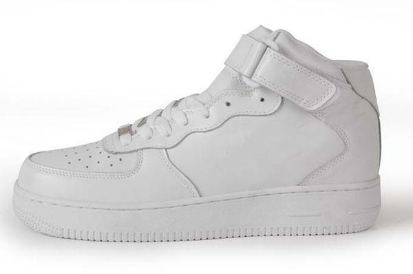 Acquista Nike Air Force One 1 Af1 2019 MID HIGH All Black, Scarpe Da Ginnastica All White Scarpe Da Ginnastica Donna A $82.72 Dal Cool_sneaker |