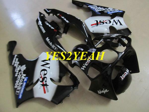 Verkleidungsset für KAWASAKI Ninja ZX-7R ZX7R 1996 2003 Karosserie ZX 7R 96 97 02 03 Verkleidungsset + Geschenkartikel KU23