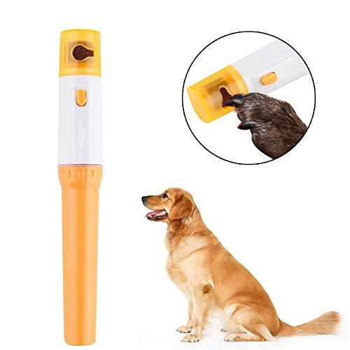 Automatic pet pedicure tool grinder portable pet nail clipper pets cats dogs nail scissors paws trimmer pets grooming supplies