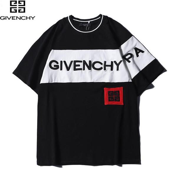 nuovo prodotto maglietta di estate degli uomini manica corta moda T-shirt Abbigliamento casual Lettera di stampa Hip Hop nuovo stile maglietta dell'uomo Abbigliamento 010