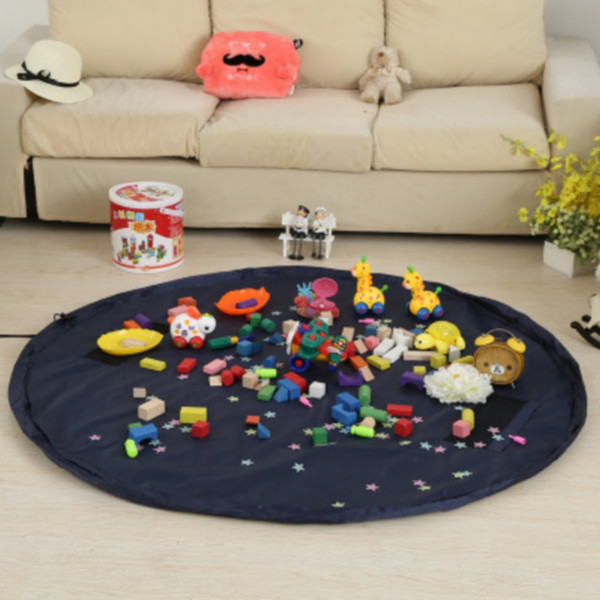 Baby's Playing Mat Diameter 150/45CM Toys Storage Blanket Waterproof Bags Messes Clean Up Outdoor Cushion 20 Pieces DHL