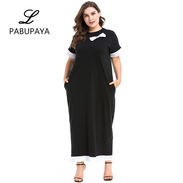 a95a22df21f kaftans Maxi Dress Elegant Vintage Muslims Robe Kaftan Tunic Gown Ladies  Womens Summer Short Sleeve Robes