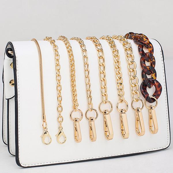 Nouvelle chaîne cross-body une bandoulière pour sac à main de mode en métal sac chaîne ceinture dames bagages accessoires