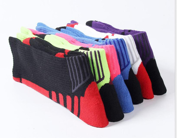 Professional towel-bottom sports basketball socks high-end luxury thickened towel-bottom stockings outdoor sports socks designer sports foot