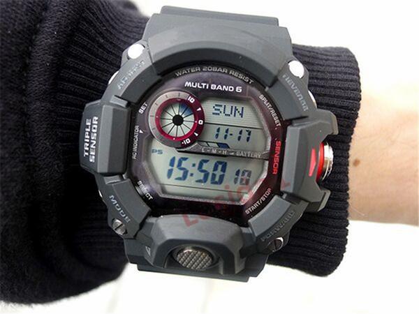 2019 Nuevos Hombres de la Moda Relojes G Estilo Correa de Goma Relojes Deportivos Pantalla Led Reloj de Choque Militar Para Hombre Hombre de energía solar reloj hombre