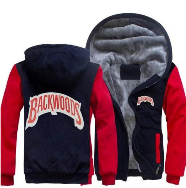 Марка Дизайнер Backwoods куртки баскетбол работает мужские пальто куртки Отпечатано Luxury Mens Hoodie Повседневный Спорт Открытый ВЕТРОЗАЩИТНЫЕ Одежда