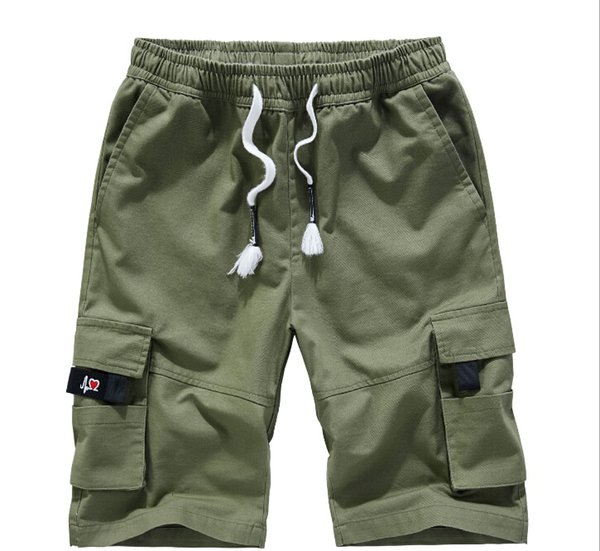 Summer Casual Shorts Hommes Coton Style Sport Hommes Short Plus Taille Lâche Short Pour Hommes