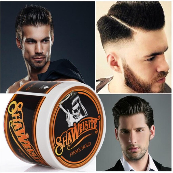 top popular Suavecito Hair Pomade Strong style restoring Pomade Hair wax Skeleton Professional Fashion Hair Mud Pomade For Salon Hairstyle 2021