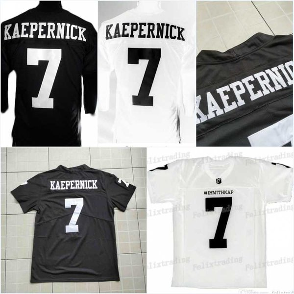 the latest 71054 86066 2019 7 COLIN KAEPERNICK Men IMWITHKAP JERSEY COLIN KAEPERNICK IM WITH KAP  Football Jersey High Quality Personalized Customized Jerseys From ...