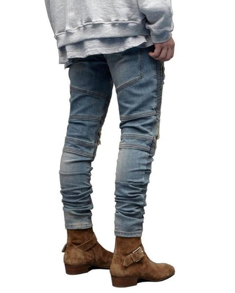 Hop Mens Designer Jeans Fashion Casual Ripped Draped Designer Holes Pencil Jean Pants Mens Clothing New Boy Hip Fashion Mens Clothing Women Clothing Mens Jeans Pants Hoodies Hiphop ,Women Dress ,Suits Tracksuits,Ladies Tracksuits Welcome to our Store