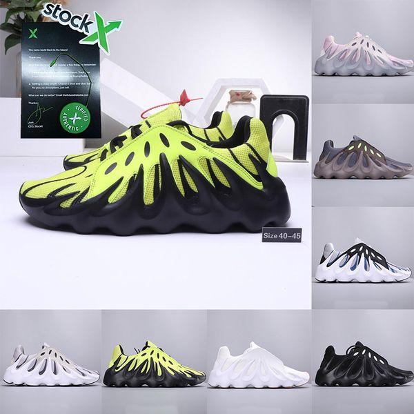 Con X della Kanye 451 Ovest scarpe da corsa 3M Vulcano 700 fluorescenti V2 corridore dell'onda Triple Nero mens formatori scarpe da ginnastica di marca di lusso