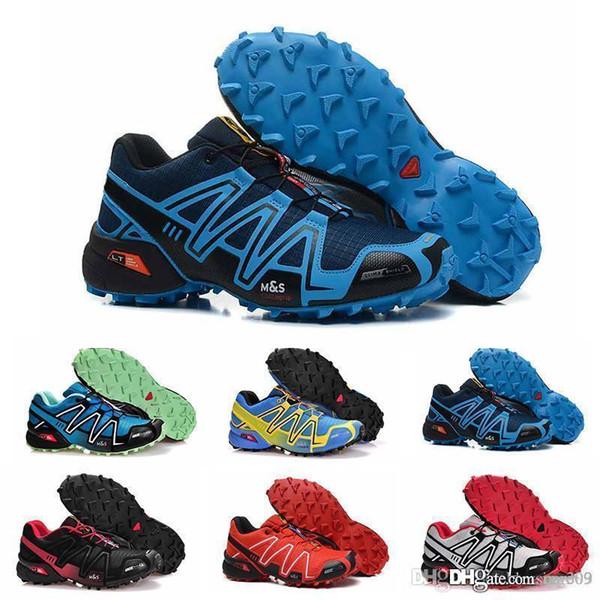 Compre Salomon Speedcross 3 Venta Barata Speed Cross 4 CS IV Hombres  Zapatillas De Running Caminar Al Aire Libre Zapatillas Deportivas  Zapatillas ...