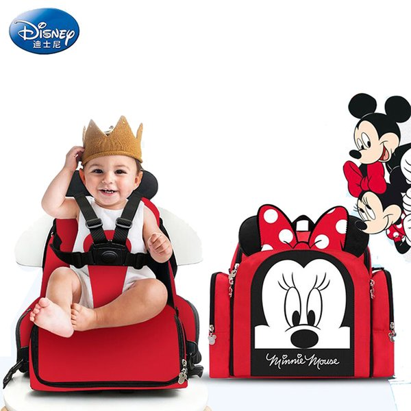 Baby Diaper Bags Dining Chair Mummy Mochila Maternity Nappy Diaper Stroller Bag Insulation Waterproof Mummy Backpack