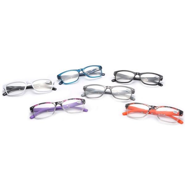 Gafas de presbicia Gafas súper ligeras y súper resistentes Gafas de lectura de alta definición Cómodos Hombres Gafas Accesorios de moda LJJS267