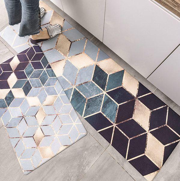 Kitchen Rugs Flooring Pad Matting Anti Slip Protect Cover Carpet Tile  Doormat Non Slip Footcloth Mat Industrial Carpets Carpet Installation Price  From ...