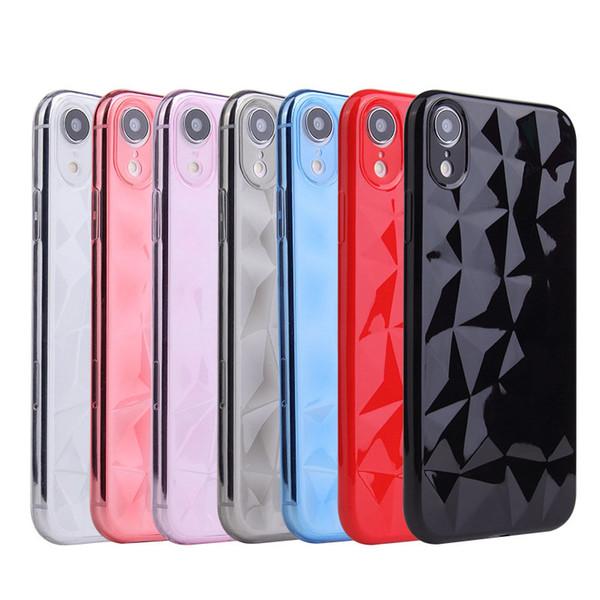 Para a apple iphone x xs max xr 8 plus 7 6 6 s case à prova de choque ultra macio tpu casos capa