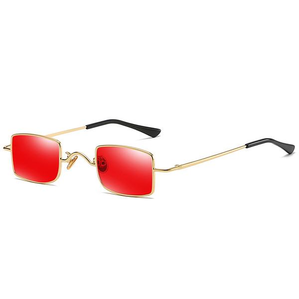 Vintage Designer Sunglasses For Men And Women Retro Square Fashion Unisex Sun Glasses Modern Street Fashion Eyewear Oculos De Sol