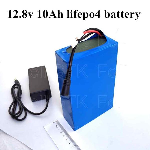 1pcs LiFePO4 12v 10Ah 12.8v battery 10000mah 4S BMS 30A 250W DC 12v 12ah motor two stroke engine camera Led light solar audio