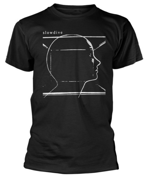Slowdive 'Album Cover' T-Shirt - NEUER OFFIZIELLER! 2019 New Fashion T-Shirt Marke Hip Hop Print T-Shirt Hohe Qualität 100% Baumwolle