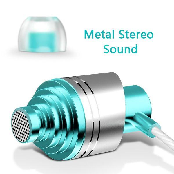 3.5 mm para teléfono inteligente MP3 / mp4 subwoofer estéreo de cuerda Auriculares en la oreja Auricular Auricular Auricular reflectante subwoofer kulakl k