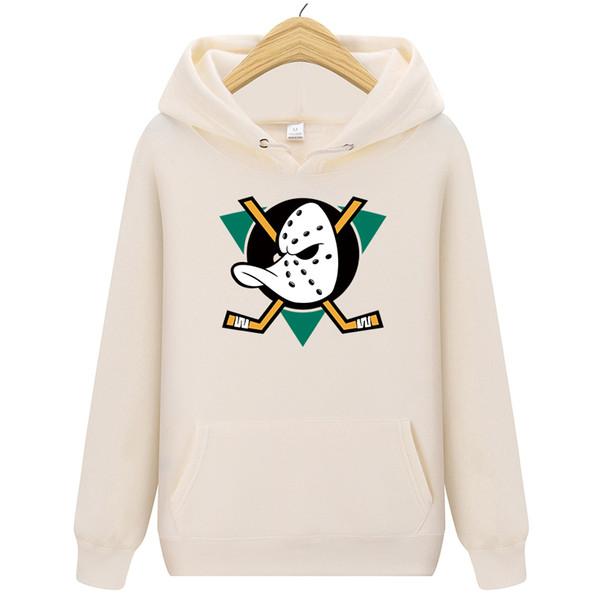 2019 13 renkler Anaheim NHL Lig Mighty Ördekler Mens Hoodie marka erkek üst Kazak erkek için en iyi hediye Ücretsiz kargo