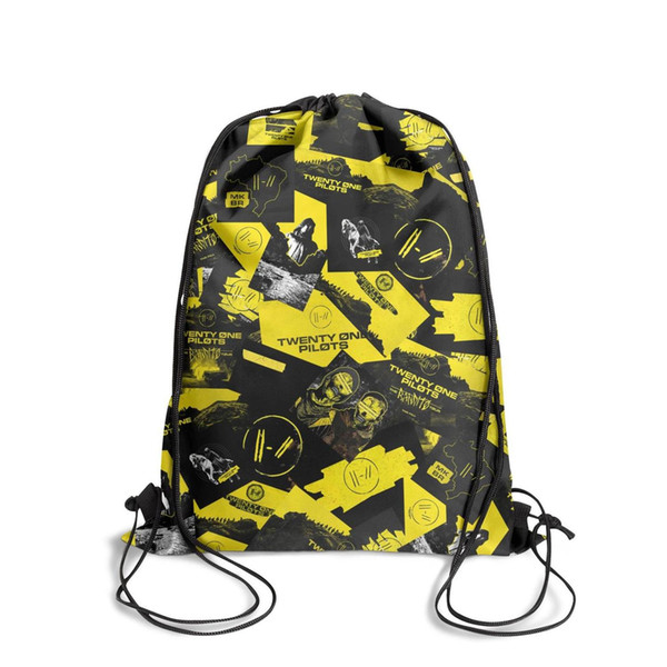 Drawstring Sports Backpack Logo Twenty One Pilots Trench popular daily athletic Travel Fabric Backpack