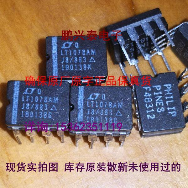 LT1078AMJ8. CDIP8, LT1078AMJ8 / 883 Q, Двойной операционный усилитель ИС интегральных микросхем, LT1078. Двойной ряд 8-контактный керамический пакет