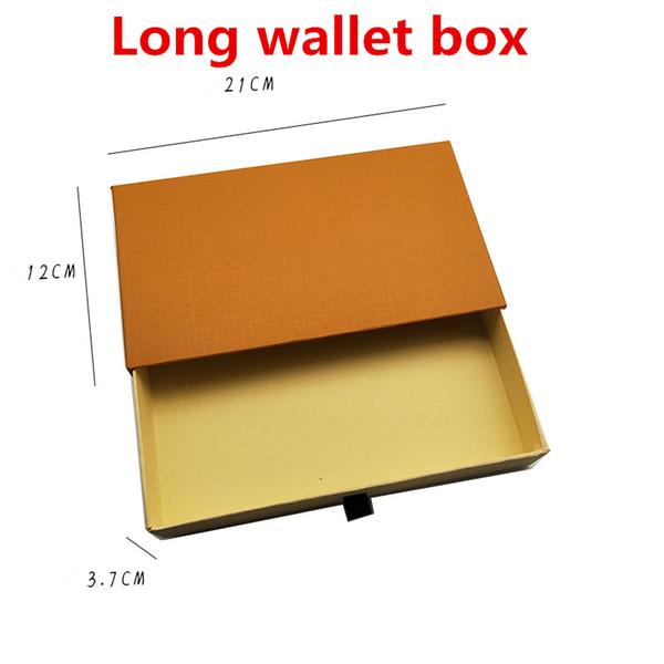 caja de la cartera a largo