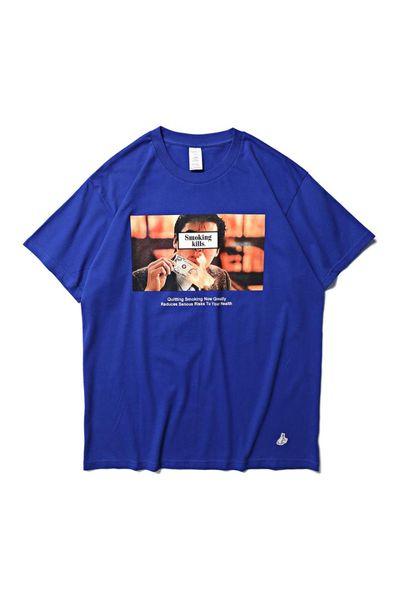 T-shirt FR2 Fumar Kills Namorada Presente Fxxking Coelhos T Shirt Das Mulheres Dos Homens de Alta Qualidade Japão # FR2 Top Tees Kanye West Hip Hop