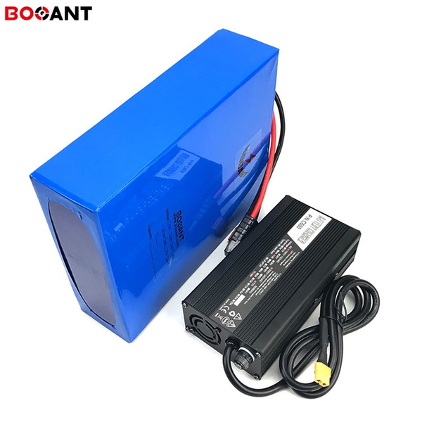 Batteria al litio elettrica potente del motorino 1500w 3000w 4000w 4000v 72v 30ah batteria elettrica della bici E-bike 15ah 20ah per la batteria 18650 di Panasonic
