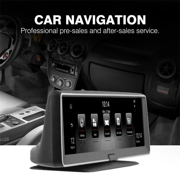 Navegación GPS quad-core de 7.84 pulgadas con radio táctil con pantalla táctil capacitiva Bluetooth WIFI para Android 5.0