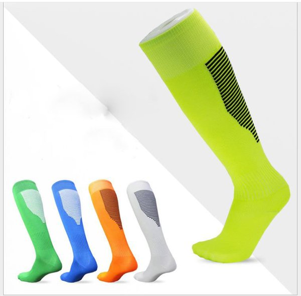gender spring and summer polyester-cotton long-barrel knee breathable sweat-absorbing sports socks - from $2.74