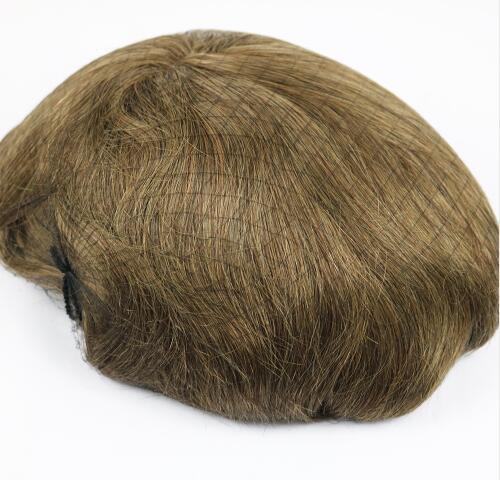 Full Lace Hairpieces for Men Birman Cheveux Humains 10x8 pouces Hommes Toupee Suisse Dentelle Système De Remplacement Des Cheveux Dentelle Base Hommes Perruques Livraison Gratuite