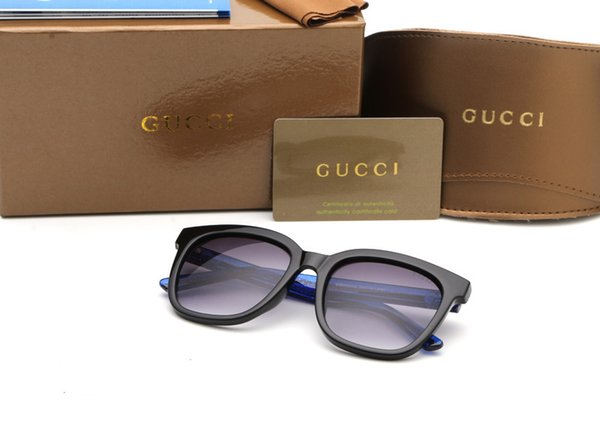 latest women's sunglasses exquisite print full frame fashion avant-garde style top quality anti-uv PC glasses with box