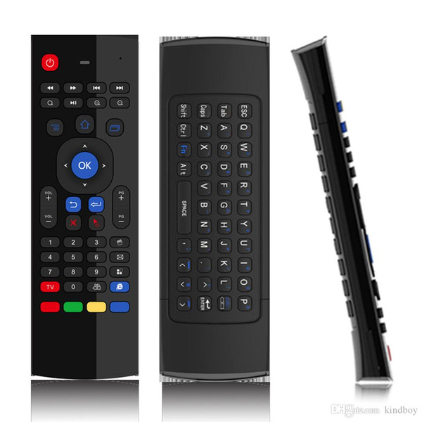 Tastiera X8 MX3 Wireless Air Mouse Min G Telerilevamento Giroscopio Sensori MIC Combo MX3-M Per MXQ M8S M95 S905 RK3229 ingranaggi Android TV BOX20