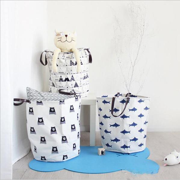 Jouets Barils à linge Paniers de rangement Poubelles Sacs pour chambre d'enfants