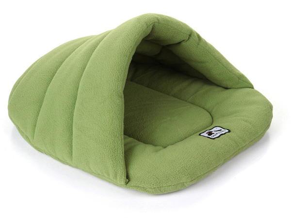 best selling Pet Dog Cat Tent House Kennel Winter Warm Nest Soft Foldable Sleeping Pad Animal Puppy Cave Sleeping Mat Nest Kennel Pet Supply