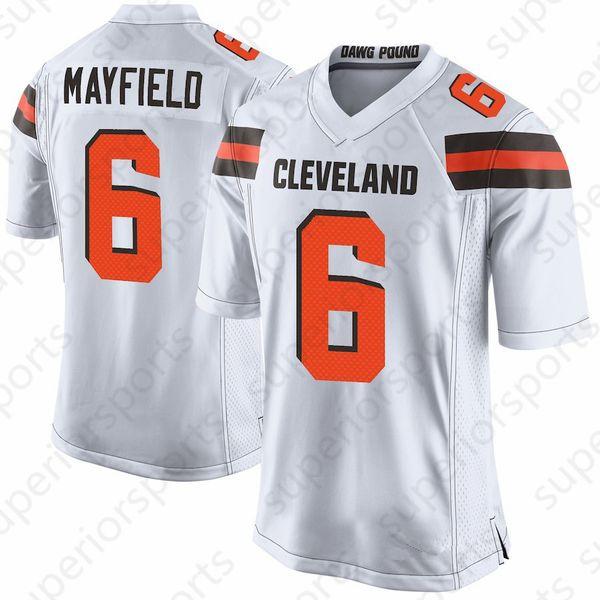 abc41492a Cleveland 13 Odell Beckham Jr Browns 6 Baker Mayfield Jersey 73 Joe Thomas  21 Denzel Ward Jersey 22 Jabrill Peppers 95 Myles Garrett