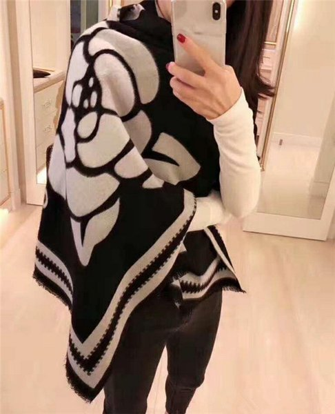 top popular Free Delivery Hot Selling New Style French Fashion Stars New Favourite Scarf No. C10-15 High-end Woman Cashmere Scarf. 2021
