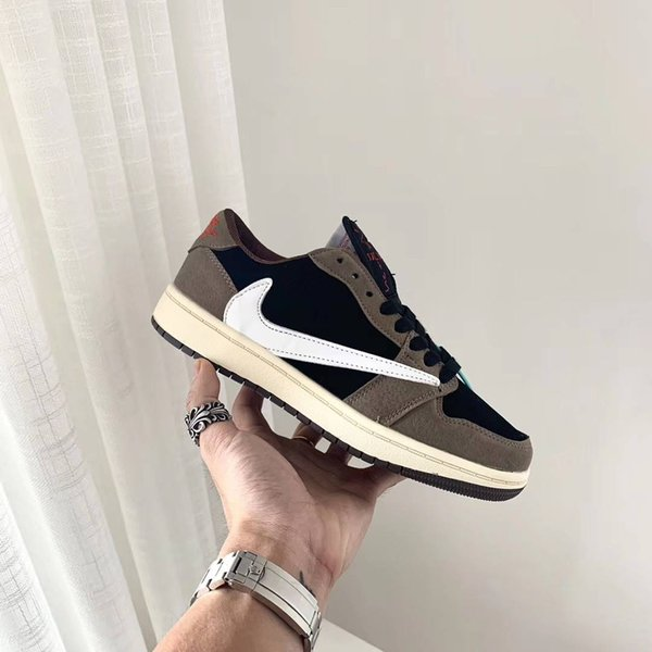 top popular Dark brown barbs grimace electric embroidery high and low shoes women's color matching flat student slip anti-hook casual shoes mm1 2019