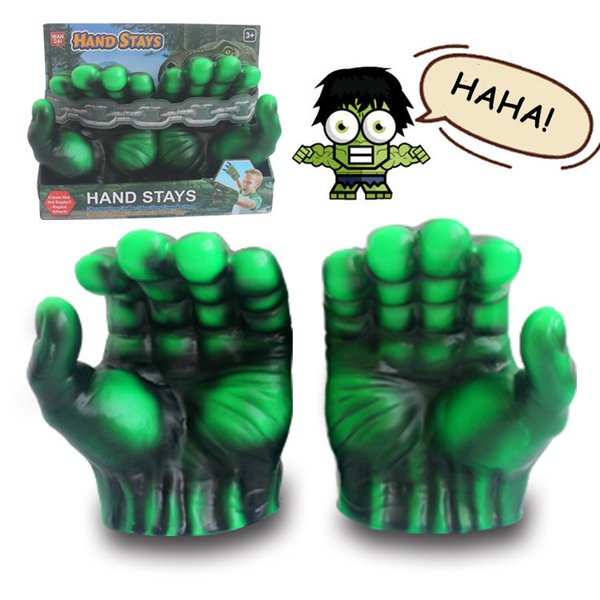 Marvel 4 Avengers Costume Accessories Iron Man Panther Hulk Cosplay Gloves Raytheon Axe Kids Game Toy Halloween New Stylish Fashion Costumes