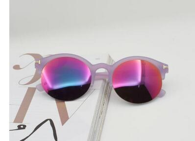 2022 New Fashion Sunglasses for Men Women metal frame Mirror polaroid Lenses driver Sun Glasses with brown case and box