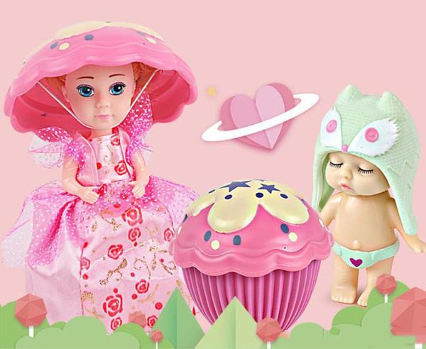 Nuovo angelo caldo che dorme decorazione del bambino bambola bambola giocattolo principessa creativo vestire ragazza regalo di decorazione