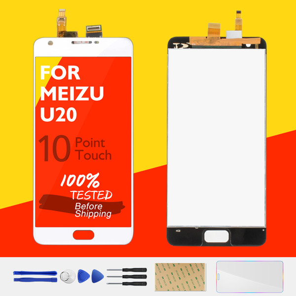 100% Original For MEIZU U20 LCD Display 10 Touch Panel Screen For MEIZU U20 LCD Digitizer Replacement Repair Spare Parts Test