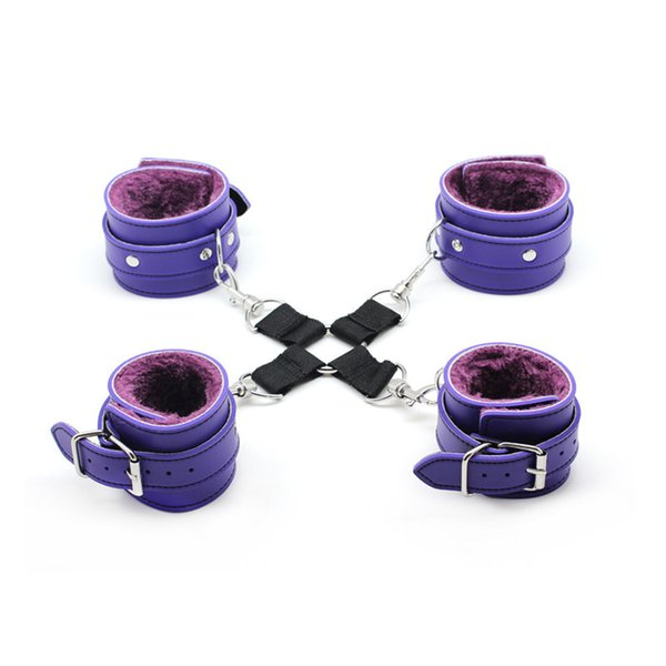 4 purple and buckle